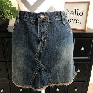 Aeropostale Jean Mini Skirt